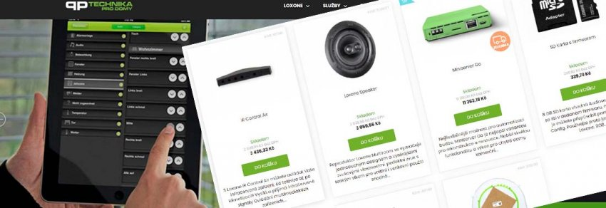E-shop Loxone