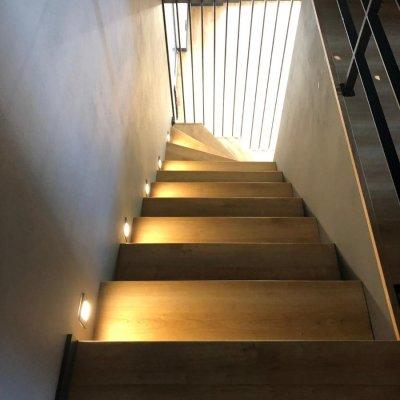 Chytré osvětlení schodů