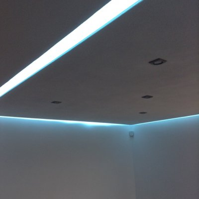 Chytrá osvětlení - realizace