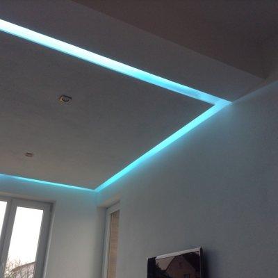 Řízené osvětlení s Loxone app.