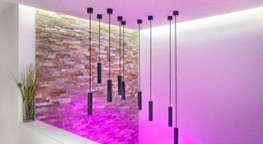 Designový světlo od Loxone
